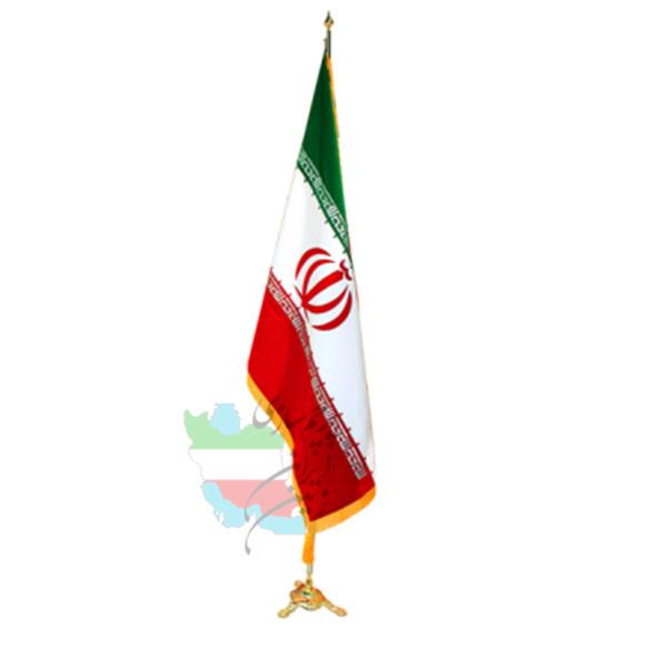 پرچم-تشریفات-ایران-ساتن