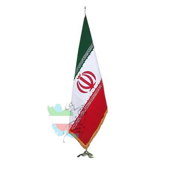 پرچم-تشریفات-ایران-مخمل