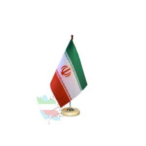 پرچم رومیزی ایران لیزری