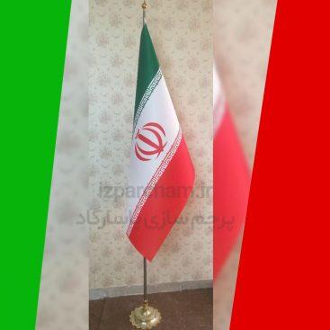 نمونه کار چاپ پرچم ایستاده ایران